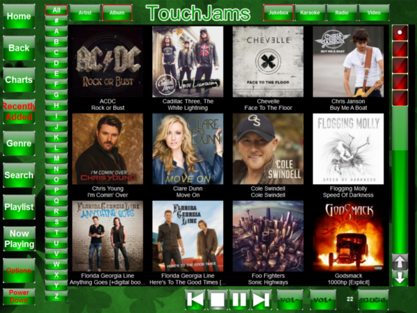 TouchJams Skin - Mareks Pattys Day 1024 x 768